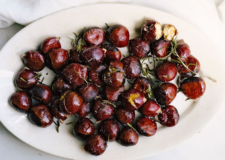 Buttery Roasted Chestnuts