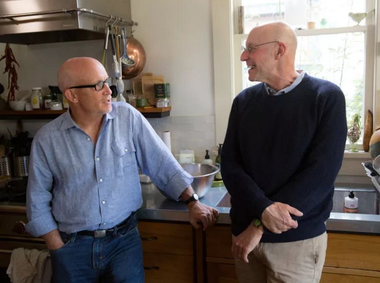 Alex Gibney and Michael Pollan